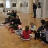 Деца рисуват в СГХГ