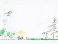 Деца рисуват дом