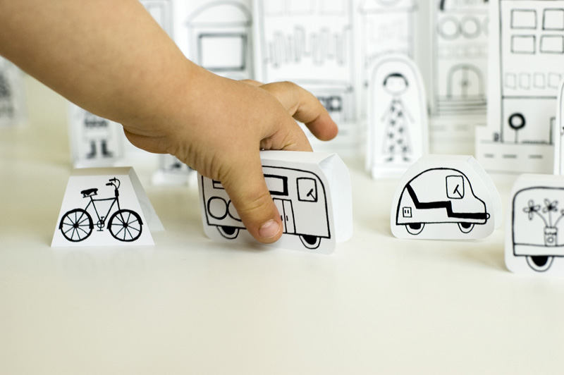 Paper-City-Vehicles