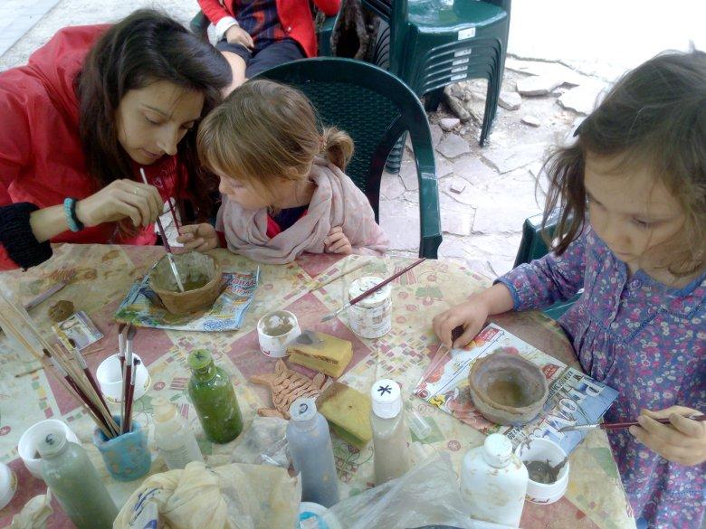 Керамика в парка