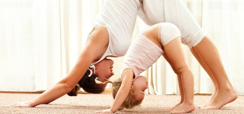 Йога за деца и родители