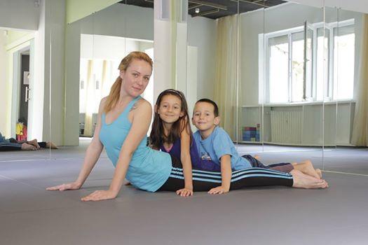 Йога за майки с деца