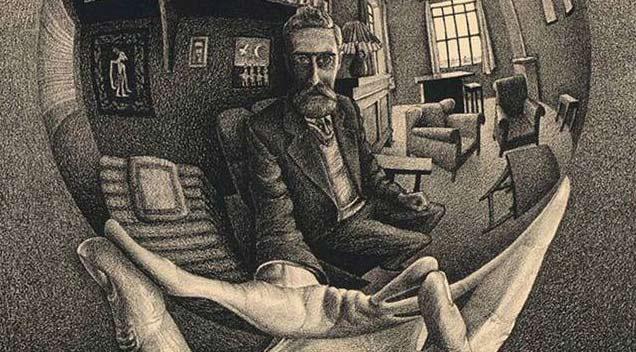 Ешер и оптическите илюзии