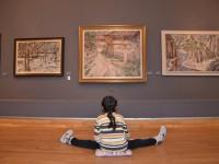 Рисуване в галерията