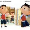 Малкият Никола за сричащи хлапета