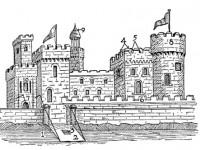 История на архитектурата за деца – Средновековие