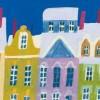 Къщички в снега по Андерсенови приказки