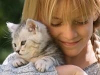 Любовта на децата към животните