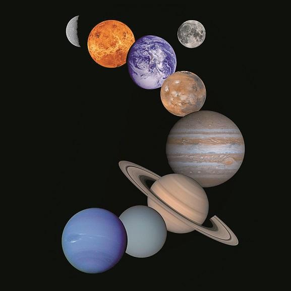 Разходка в Слънчевата система