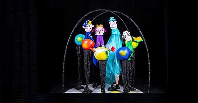 Куклен театър в Гранд Хотел София